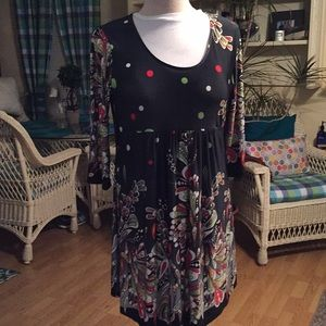 2XL R&B collection, polyester spandex Tunic/Dress